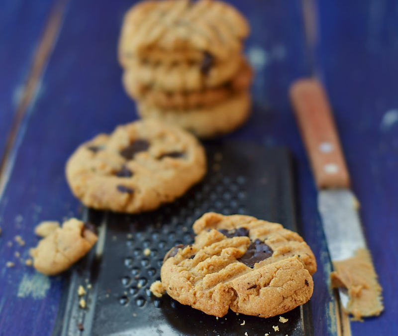Simple Gluten-free Peanut Butter Cookies