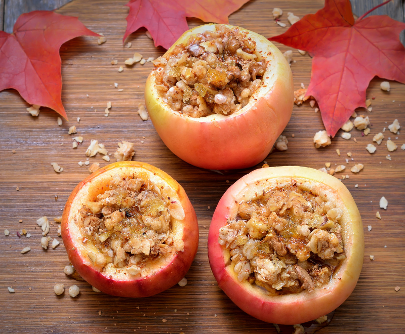 Nanna D's Old-Fashioned Maple Baked Apples
