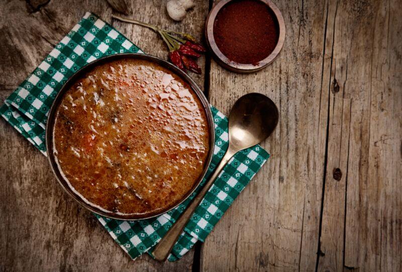 Warming Chicken and Sausage Stew
