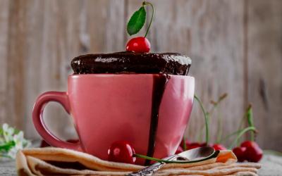 Complete Vegan Mug Cake