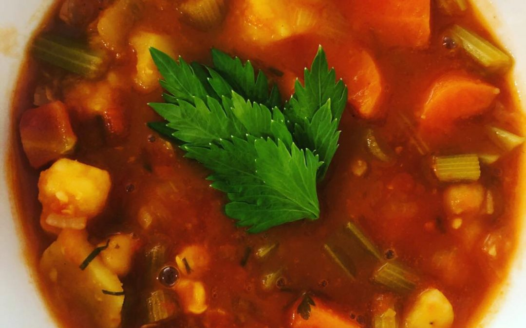 Rustic Autumn Vegetable Soup