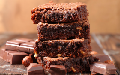 Paleo GF Healthy Sweet Potato Brownies