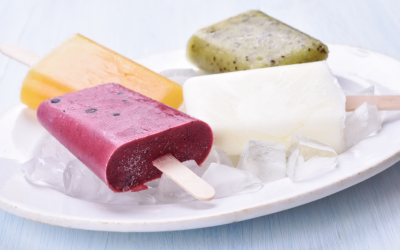 Dragonfruit Popsicles
