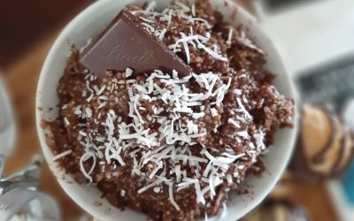 Chocolate Macaroon Breakfast Quinoa
